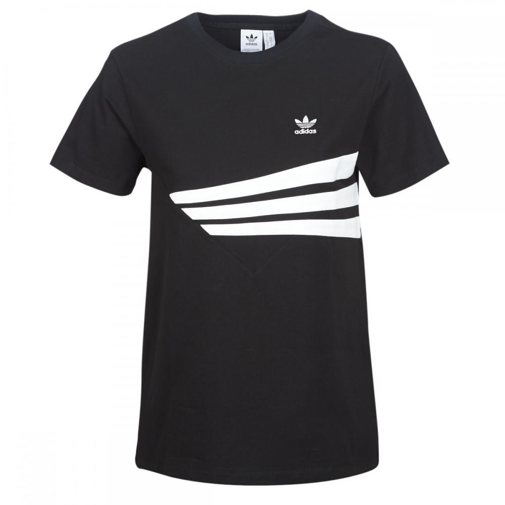 Damen T-Shirts & Poloshirts | Adidas Originals YESSA schwarz