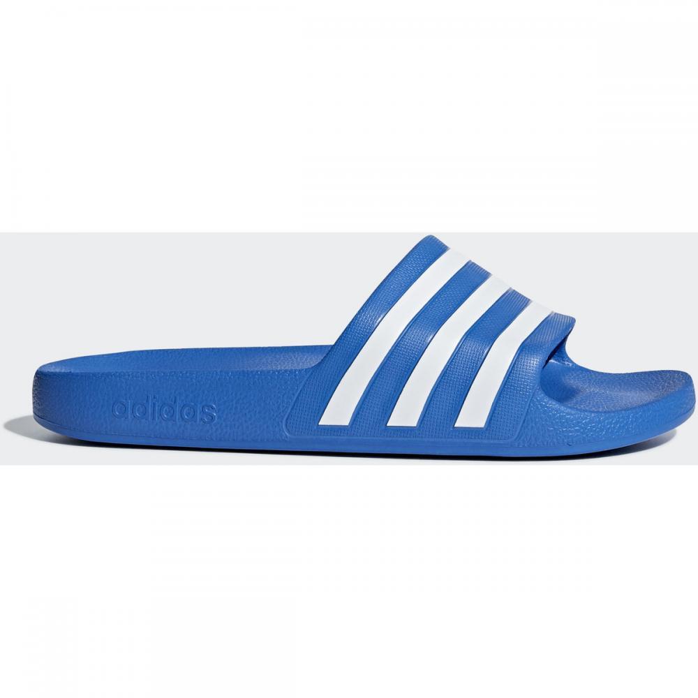 Damen|Herren Pantoletten / Clogs | Adidas Originals Adilette Aqua Slipper weiß