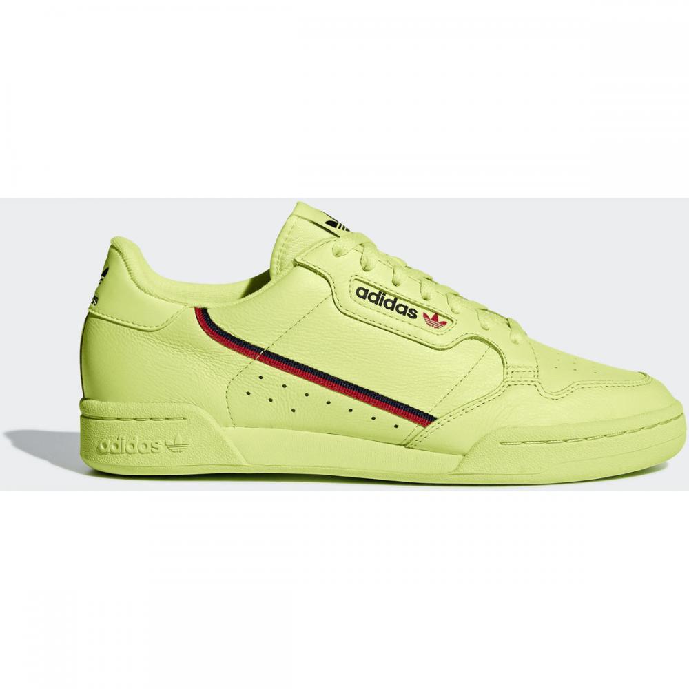 Herren Sneaker | Adidas Originals Continental 80 Schuh rot