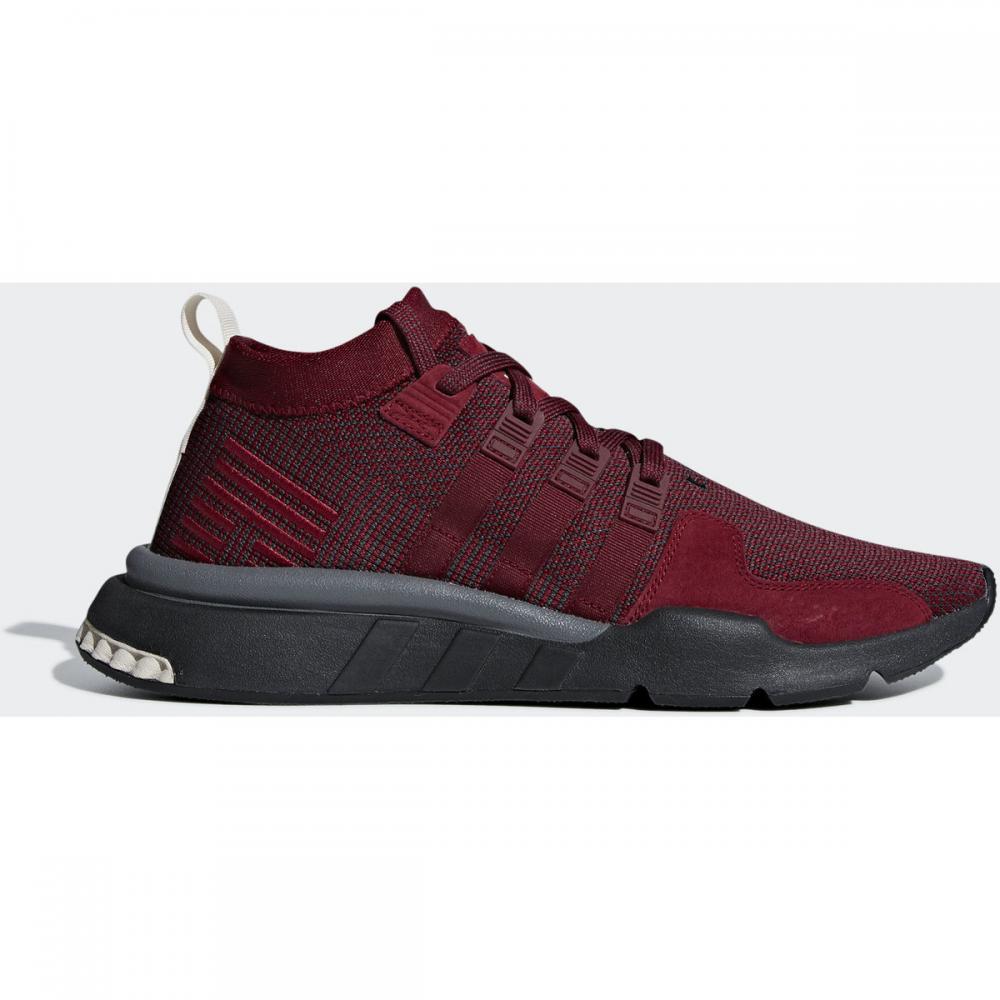 Herren Sneaker | Adidas Originals EQT Support Mid ADV Schuh grau|rot