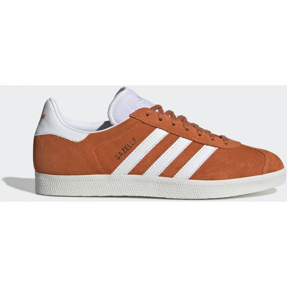 Herren Sneaker | Adidas Originals Gazelle Schuh weiß|orange