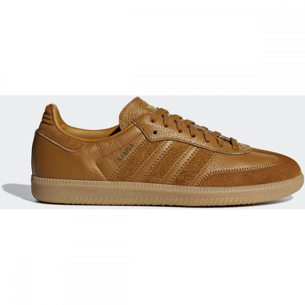 Herren Sneaker   Adidas Originals Samba OG FT Schuh braun