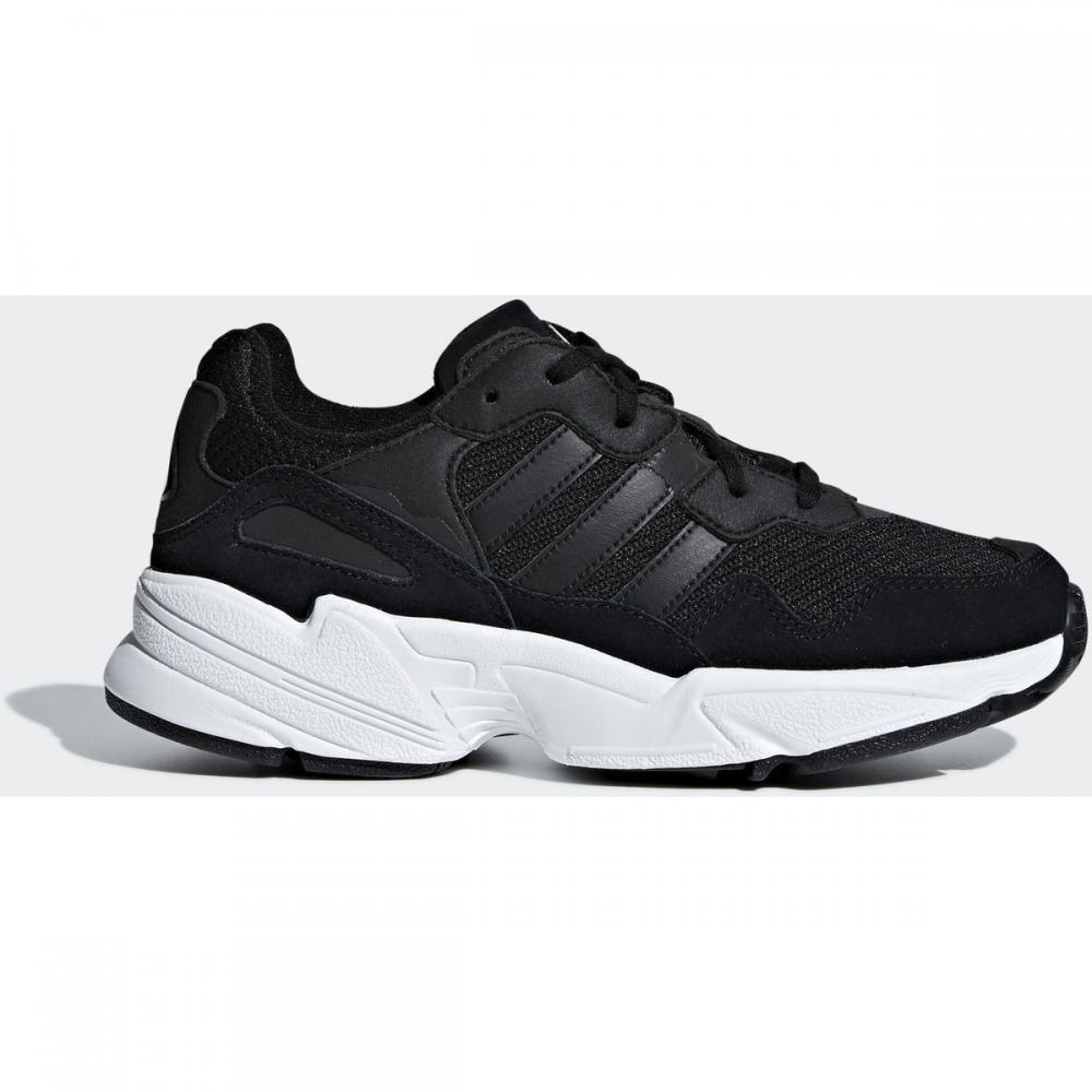 Herren Sneaker | Adidas Originals Yung-96 Schuh weiß|schwarz