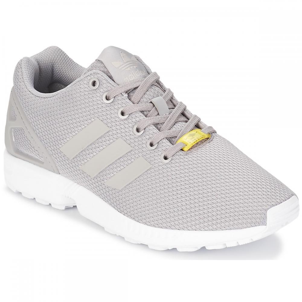 Herren Sneaker | Adidas Originals ZX FLUX weiß|grau