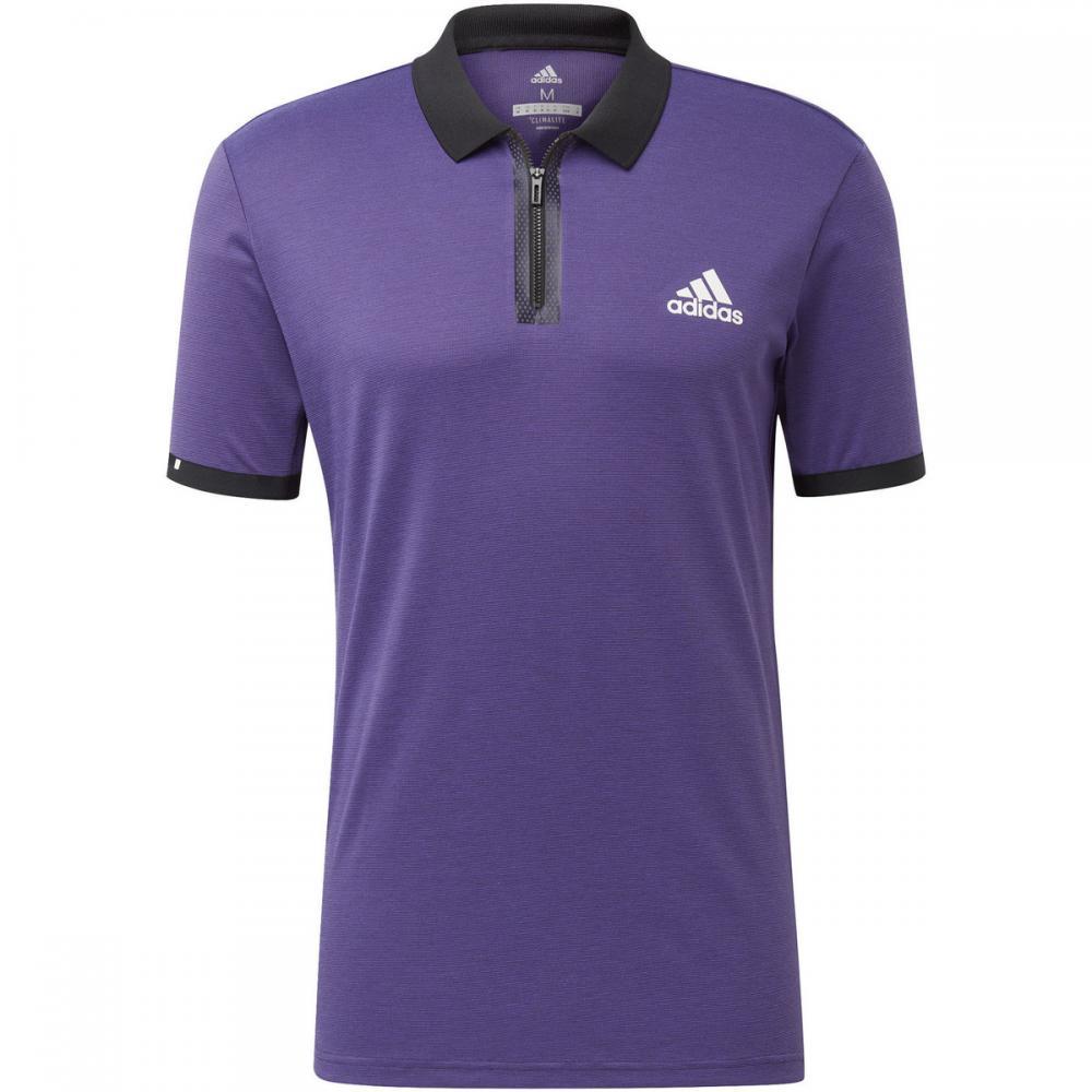 Herren T-Shirts & Poloshirts   Adidas Originals Escouade Poloshirt weiß