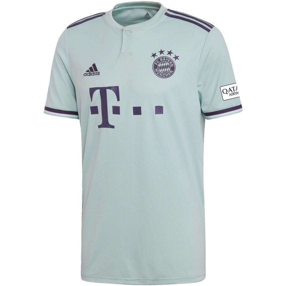 Herren T-Shirts & Poloshirts | Adidas Originals FC Bayern München Auswärtstrikot weiß