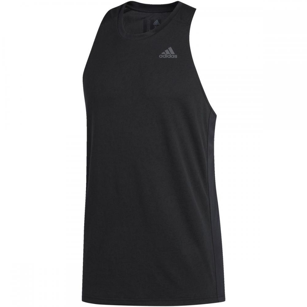 Herren T-Shirts & Poloshirts | Adidas Originals Own the Run Singlet schwarz