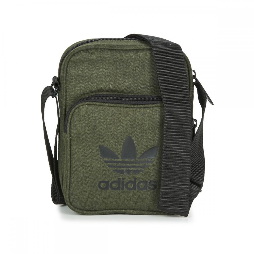 Herren Kleine Taschen | Adidas Originals MINI BAG CASUAL grau