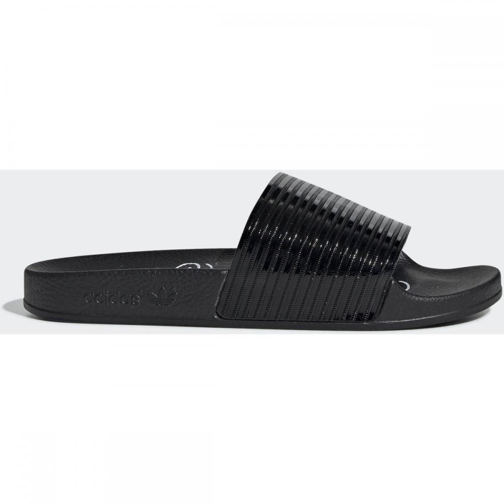Damen Pantoletten / Clogs   Adidas Originals Adilette Slipper weiß schwarz