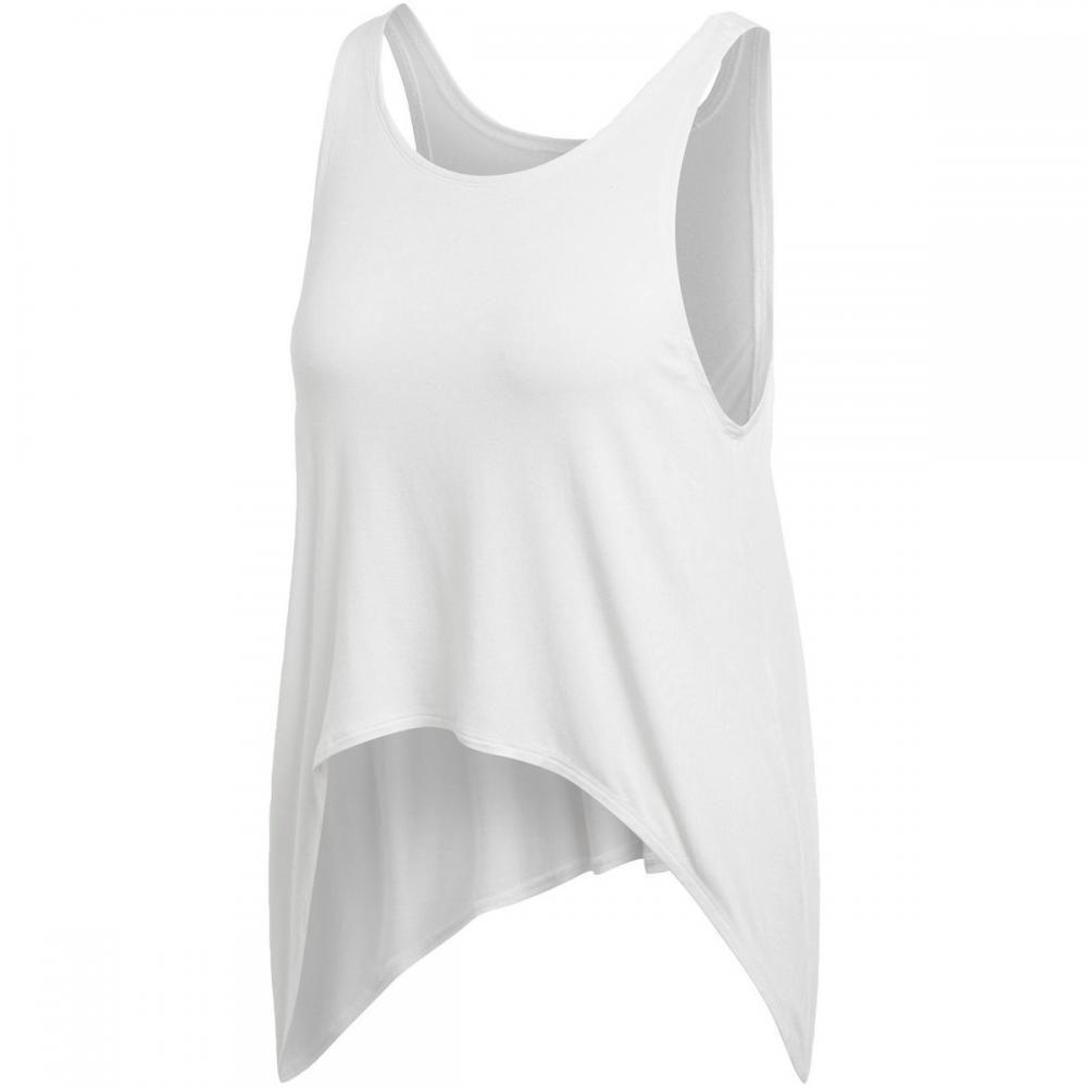 Damen T-Shirts & Poloshirts   Adidas Originals Climalite Knot Tanktop weiß